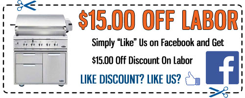 DCS Grill Repair Facebook Discount Coupon - Click to Print